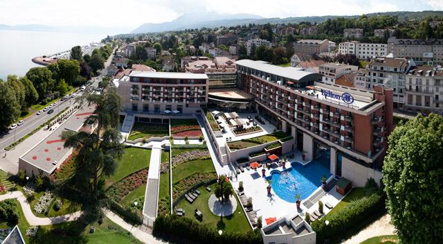 Hôtel Hilton Evian Les Bains 4*