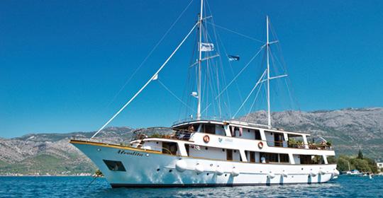 Croisière de criques en îles - Croatie