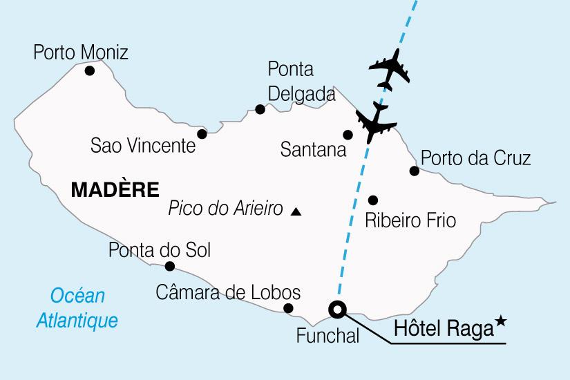 Hôtel Raga Madeira Muthu 4* à Funchal