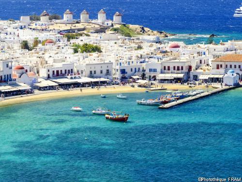 Circuit Les Cyclades : Paros, Mykonos, Delos et Naxos