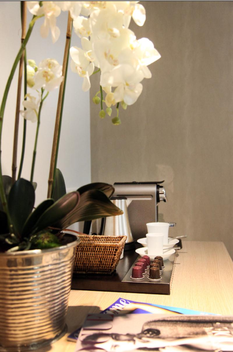 Votre cafetière Nespresso dans votre suite.
