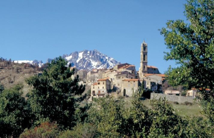 Le village de Soveria.