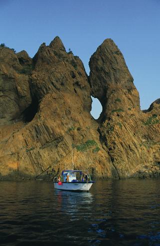 La réserve de Girolata est un leiu obligatoire de promenade par la mer.