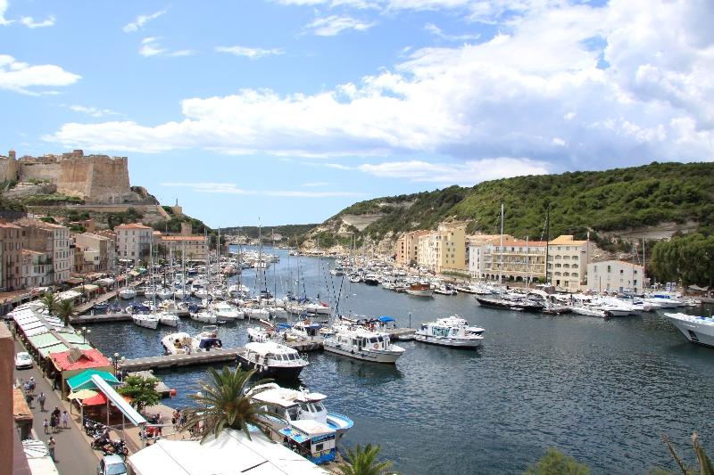 Le port de Bonifacio.