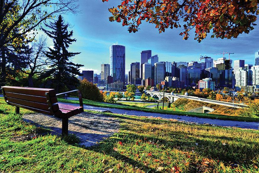(Image) image Canada Calgary Parc Panorama  fo