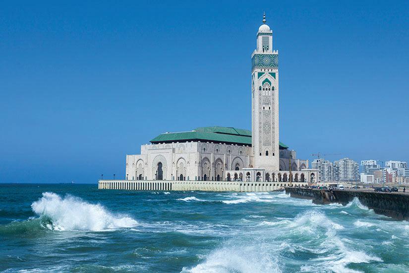 (Image) image Maroc Casablanca la Mosquee Hassan le plus grande au Maroc  it