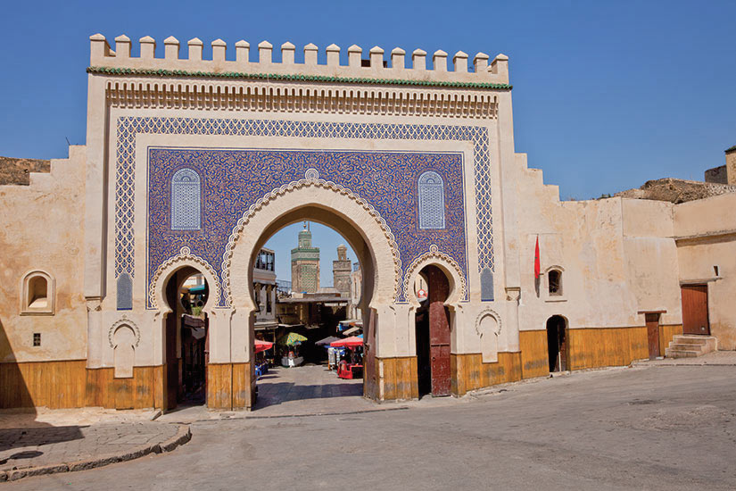 (Image) image Maroc Fes Bab Boujeloud  it