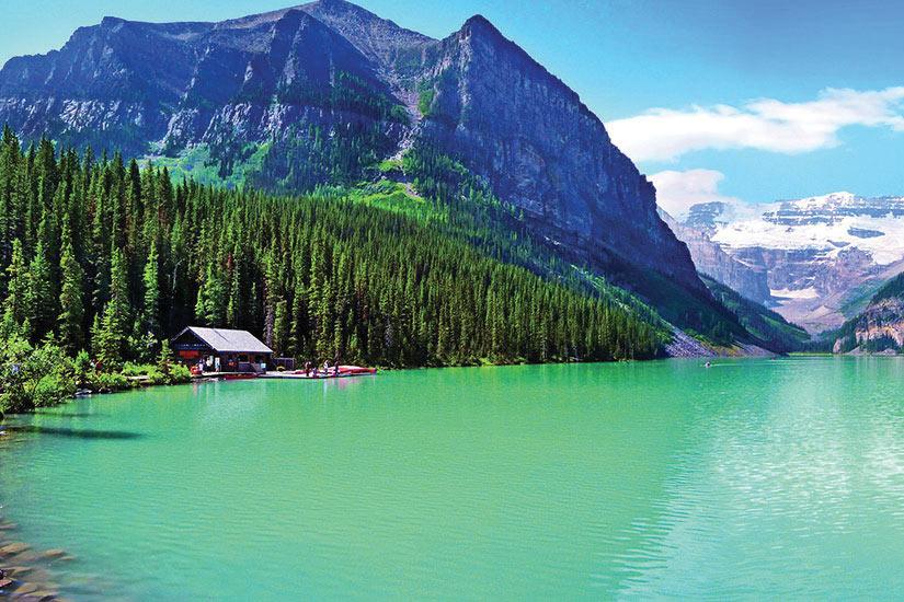 (Image) image Canada Alberta Lac Louise  fo