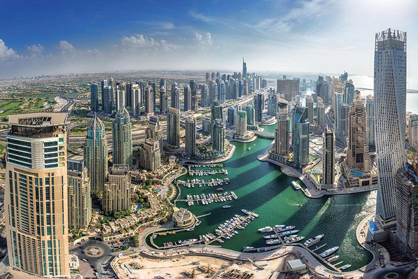(Image) image Emirats Arabes Unis Dubai vue aerienne  fo