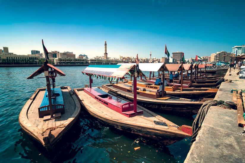 (Image) image Emirats arabes unis dubai deira bateaux taxi traditionnels abra 83 as_118801216