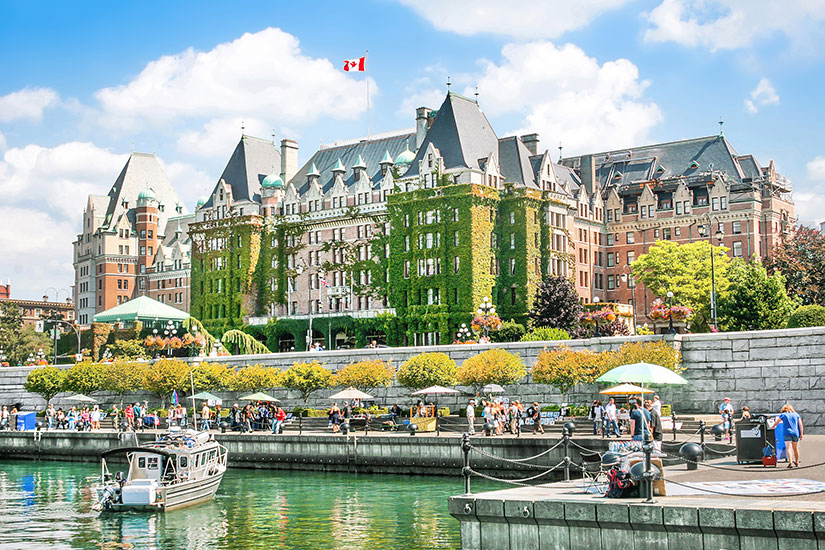 (Image) image Canada Victoria Inner Harbour  fo