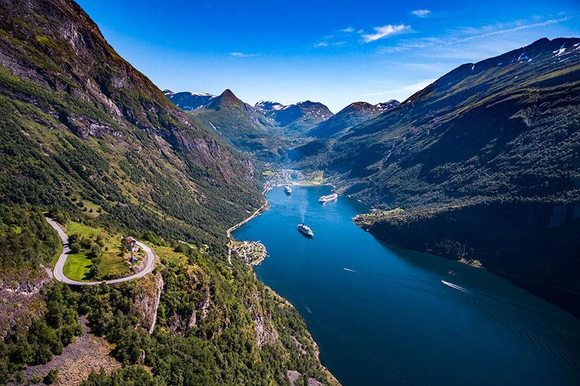 (Image) image Norvege Geiranger fjord  fo