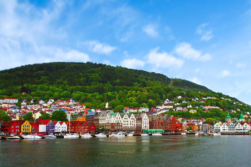 (Image) image Norvege Bergen panorama  fo